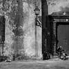 Scene from the square in front of Iglesia de las Mercedes.  Santo Domingo.