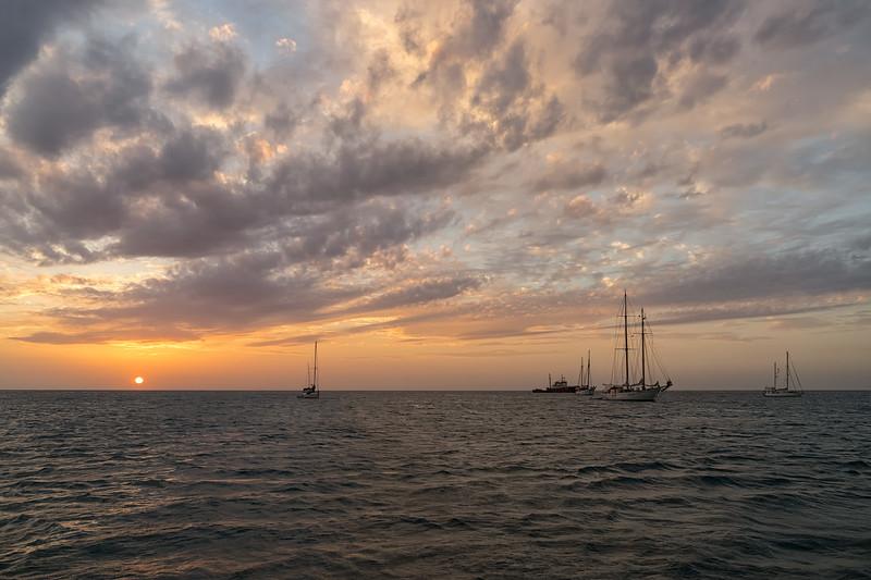 Sunset from Tyrrel Bay.