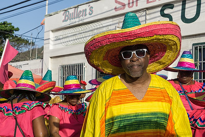 The margarita band during the Parade of Bands.
