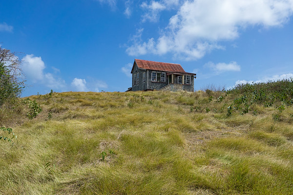 An old house on top of a hill in Dover.