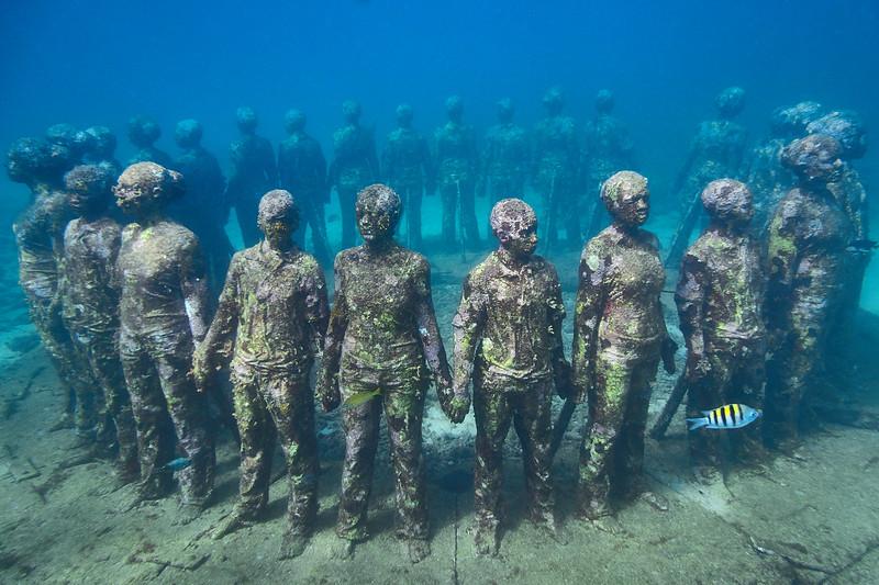 underwater sculpture park
