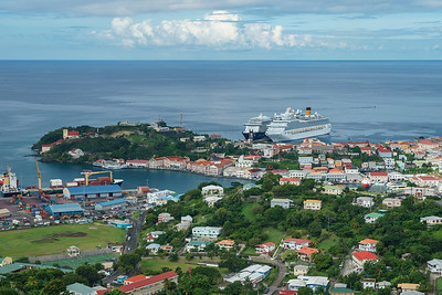 St. George's, capitol of Grenada.