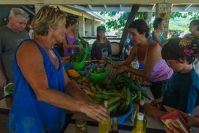 Jenny's Farmer's Market at Secret Harbour...a very impressive spread of fresh produce!