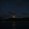 Moonrise over Mount Hartman Bay, Grenada.