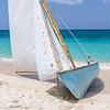 One of the traditional workboats at the Grenada Sailing Festival.