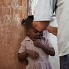 Many of the children are shorter than average due to malnourishment and other factors.