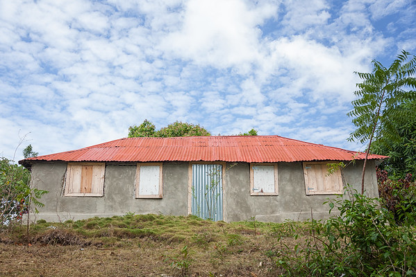 One of the houses in La Hatte village, Ile A Vache, Haiti.