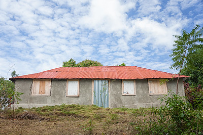 One of the houses in La Hatte village, Ile A Vache, Haiti.