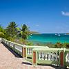 The boardwalk in Esperanza, Vieques