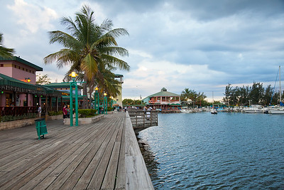 """""""La Guancha"""" is the place to be in Ponce, with many vendors selling local food along the boardwalk.  The anchorage remains noisy and lit throughout the night!"""