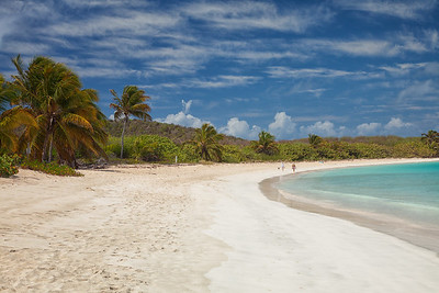 Playa Tortuga, Culebrita.  Nesting site for a few different species of sea turtles.