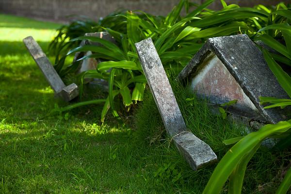 Cemetery at the Old Dutch Reform Church, Oranjestad