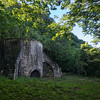 This 18th-century lime kiln was used to make cement out of limestone.