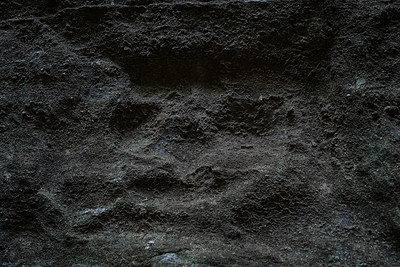 Faces seem to be the theme in the petroglyphs found in Stone Fort Canyon.