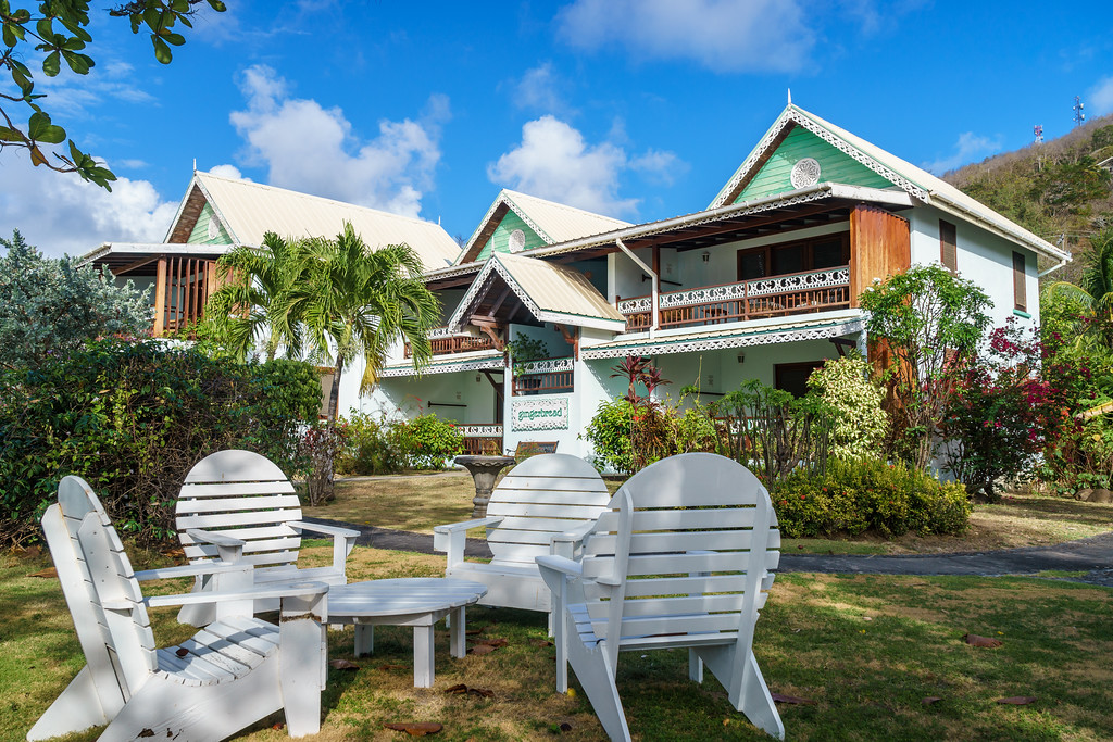 The Gingerbread House in Admiralty Bay, Bequia
