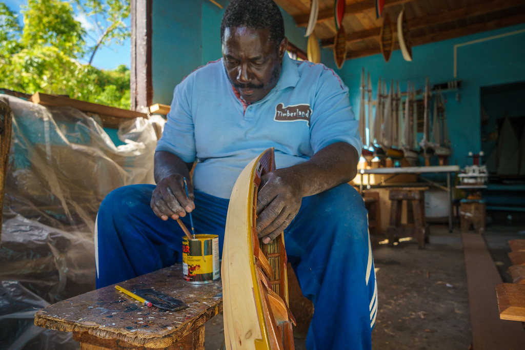Sargeant's Model Boat Shop in Bequia.