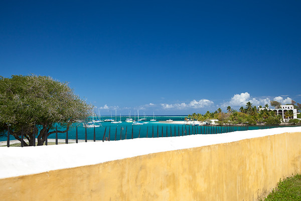 Protestant Cay from Fort Christiansvaern, Christiansted