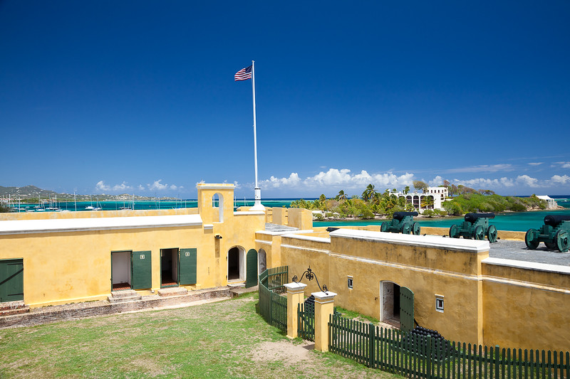Fort Christiansvaern, Christiansted