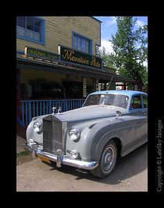 068 Rolls Royce Parked