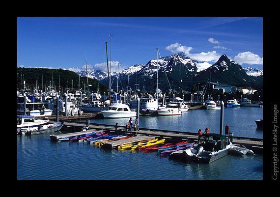 A10 Kayaks Valdez Harbor