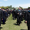 2008 Undergraduate Commencement Recessional.  Photo by John Hession.