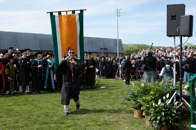 2008 Undergraduate Commencement Processional.  Photo by John Hession.