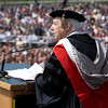 2008 Undergraduate Commencement Speaker T. Holmes Moore.  Photo by John Hession.