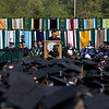 The 2008 Commencement Speaker T. Holmes Moore addresses the class of 2008.  Photo by John Hession.