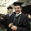 Graduates prepare for the 2008 Undergraduate Commencement Ceremony.  Photo by John Hession.