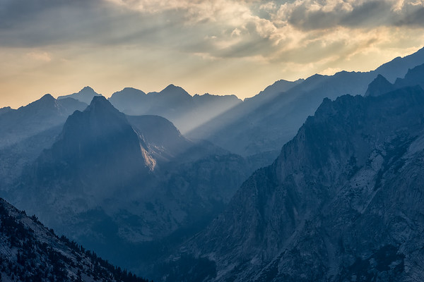 LeConte Canyon Rays