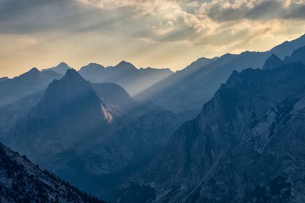 LeConte Canyon Rays