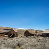 Old houses in Bodie