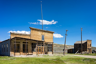 The Wheaton and Luhrs Store, which also housed the hydroelectric offices after electricity was brought to Bodie, and also a boarding house.