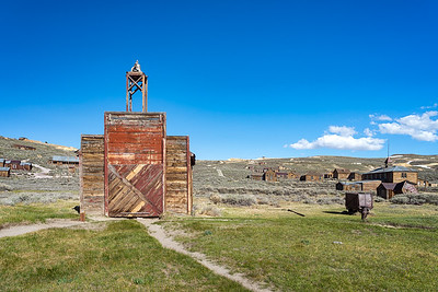 Bodie's red firehouse.