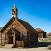 Bodie's famous Methodist church, built in 1882.