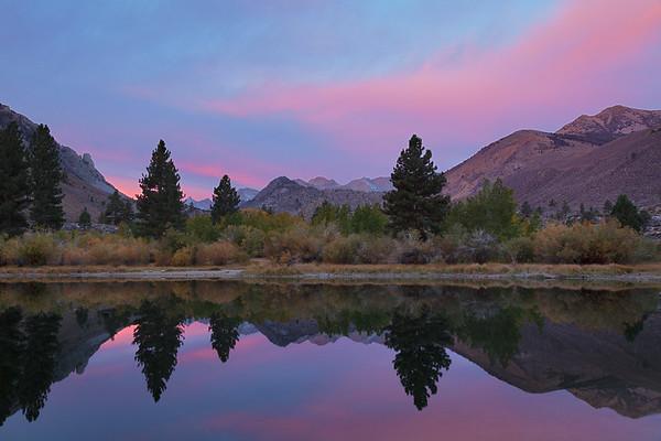 Sunrise near Bishop, California