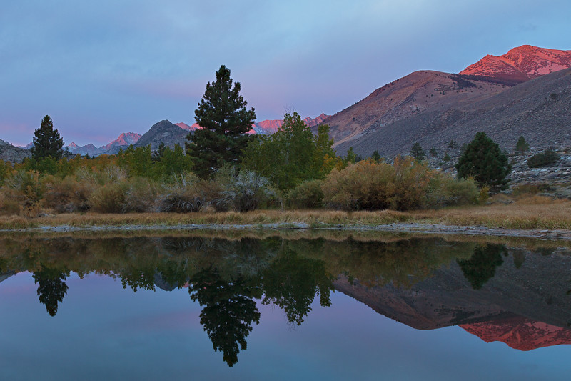 Sunrise near Bishop, California