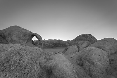 The Alabama Hills near Lone Pine, California