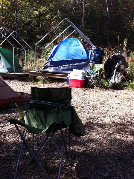 Fall Cub Scout Camping
