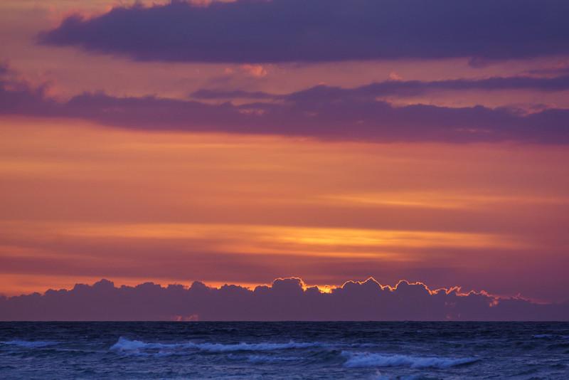 Sunset Skies at Gili Trawangan Beach - Lombok Island, Indonesia