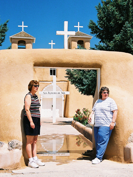 Sisters of San Francisco de Asis<br /> Delores (Dee) Klaus and Mary Jane Sparks<br /> June, 2002 -- Sante Fe NM