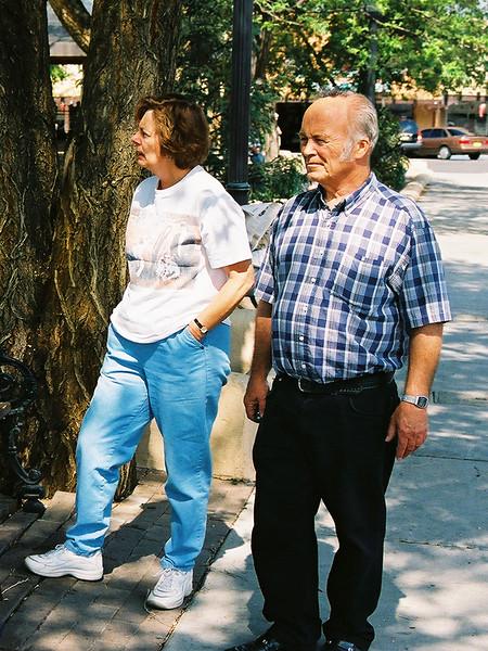 Richard and Delores Klaus (Dick n' Dee) Taos NM June 2002