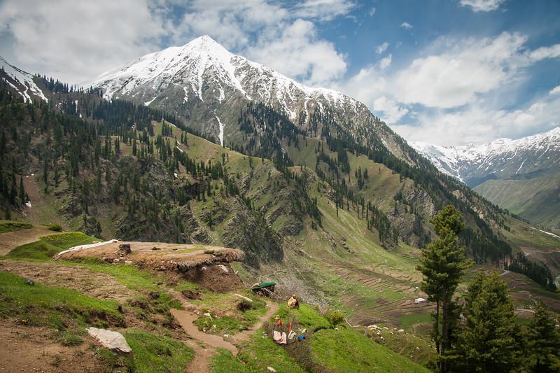 A farmer's summer home near Lalazar in the Kaghan valley