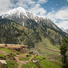 A farmer's summer home near Lalazar in the Kaghan valley