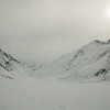 Lake Saif ul Maluk under heavy winter snow