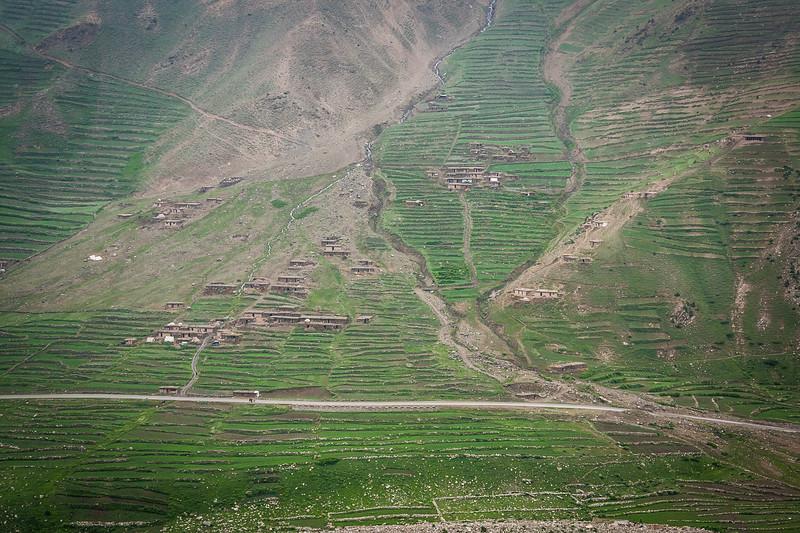 A settlement near Jhalkad