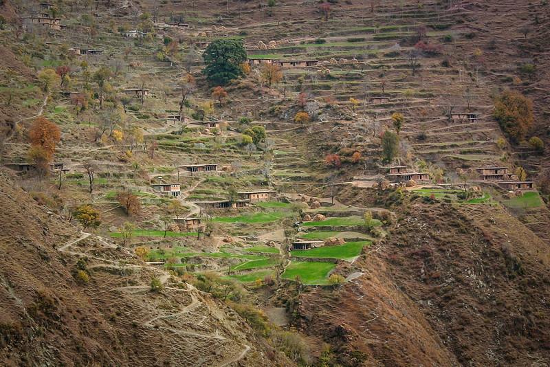 A remote village near Balakot, Kaghan valley