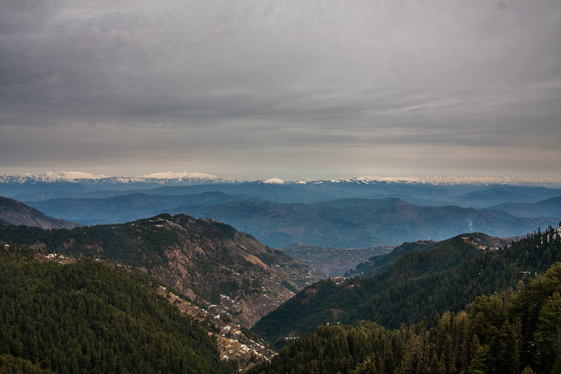 The mountains of Kashmir