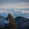 VIew from Nathia Gali looking towards the peaks of lower Kaghan