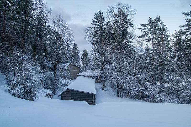 Murree in winter